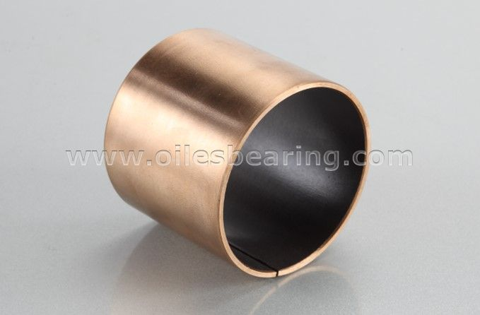 PVB011 Bronze Back Teflon PTFE Lined Self Lubricating Bearing