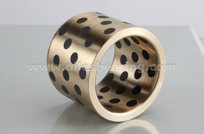 JDB-50 Graphite Inlaid Oiles Tin Bronze Bearing