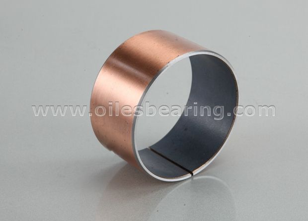 PVB010 Steel Back PTFE Lined Self Lubricating Bearing
