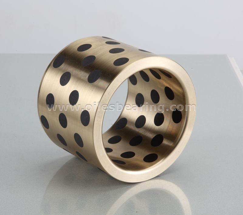 JDB-20 Graphite Inlaid Oiless Gunmetal Bearing